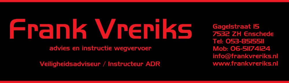 Frank Vreriks ADR